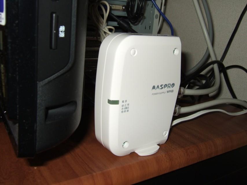 マスプロ UHFブースター UB33GN (オートブースター内蔵)