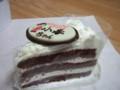 ホワイトチョコ生ケーキ