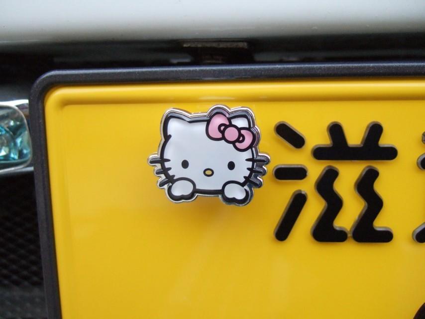 キティちゃんのボルトキャップ