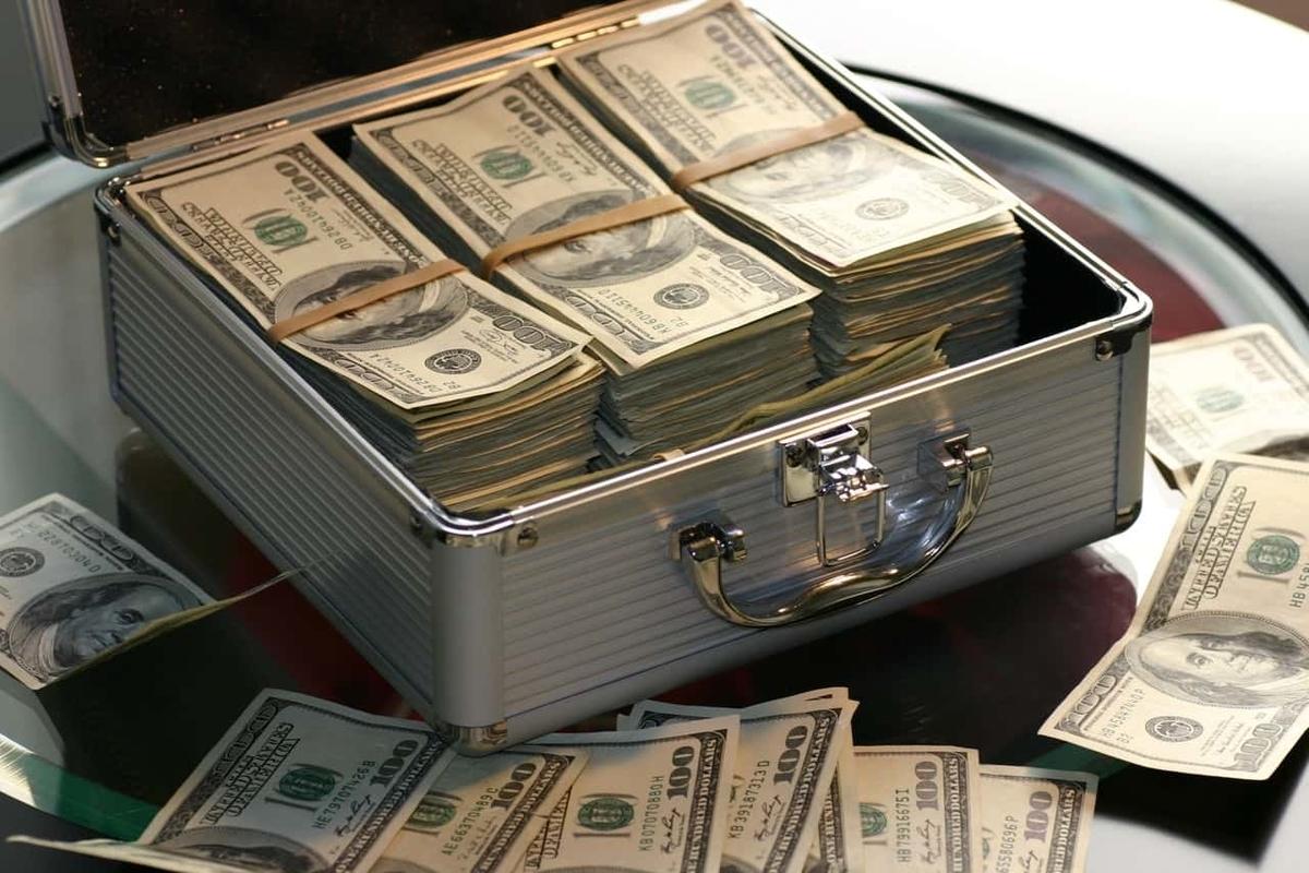 アタッシュケース お金