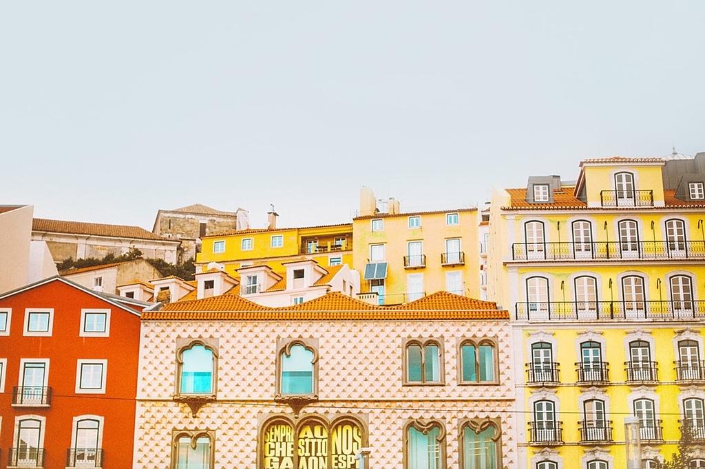 ポルトガル街並み