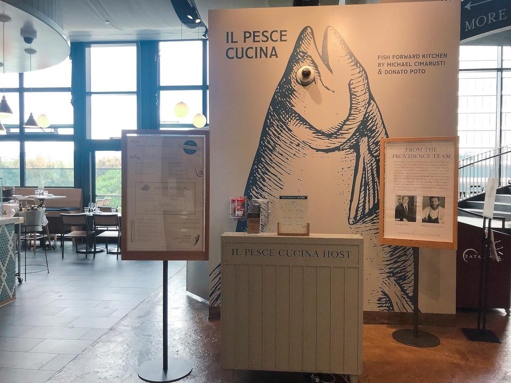 レストラン Il Pesce