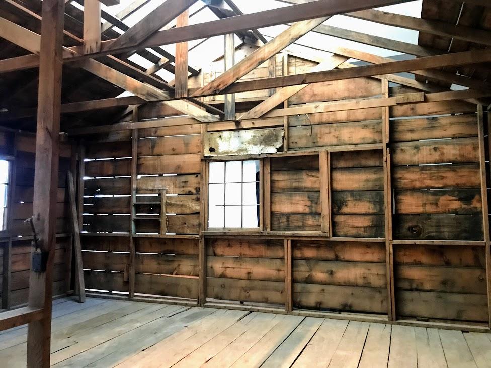 実際に使われていた収容所の一部