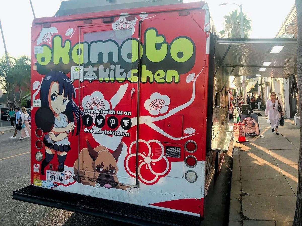 日本人が経営しているだろうトラックも・・・