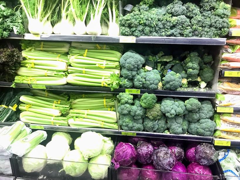 オーガニック野菜の種類が豊富