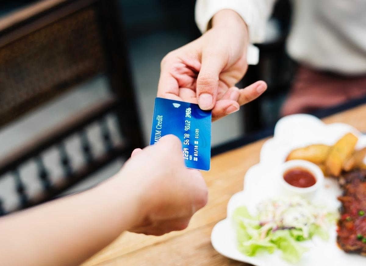 クレジットカードで支払い