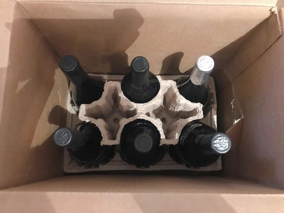 ワインの梱包