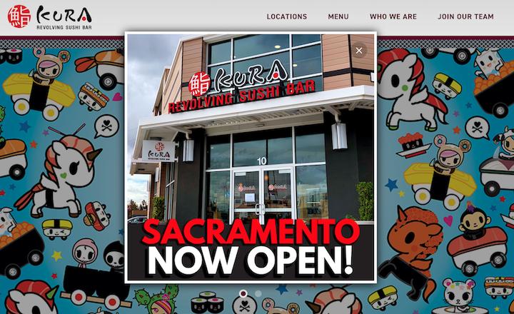 くら寿司USAホームページ