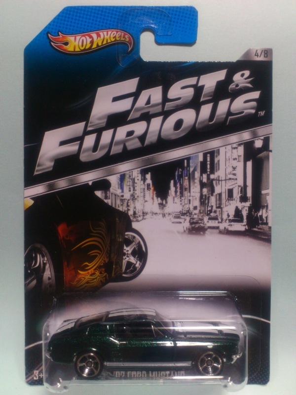 '67 FORD MUSTANG【2013 FAST & FURIOUS】