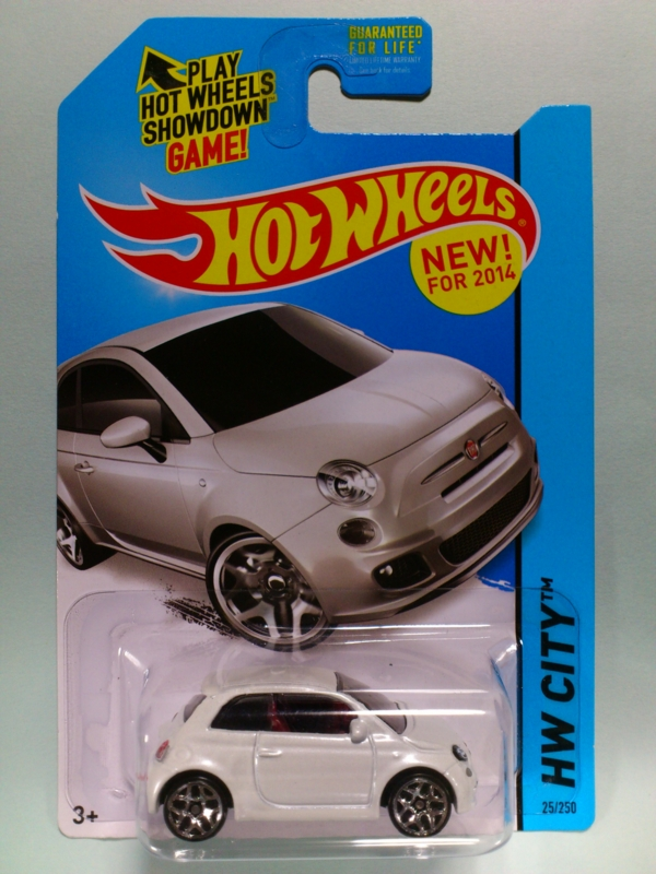 FIAT 500【2014 HW CITY】