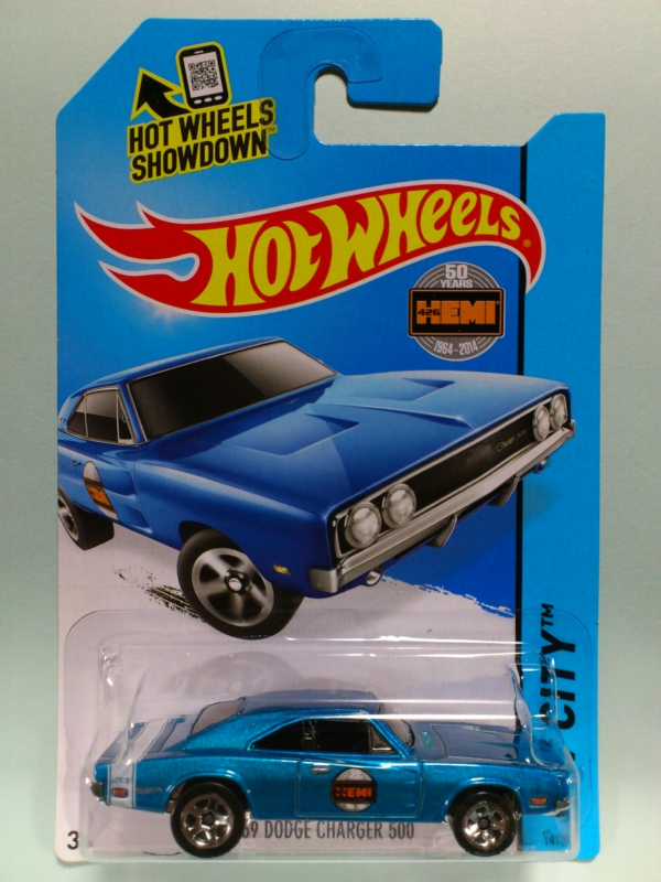 '69 DODGE CHARGER 500【2015 HW CITY】