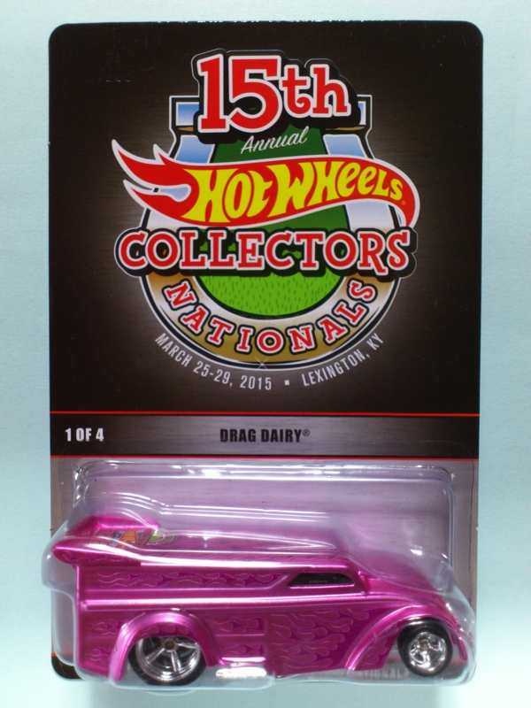 DRAG DAIRY【2015 15th ANNUAL HOT WHEELS COLLECTORS NATIONALS】