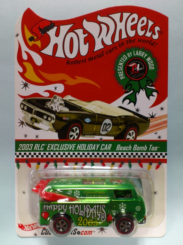 BEACH BOMB TOO【2003 RLC EXCLUSIVE HOLIDAY CAR】