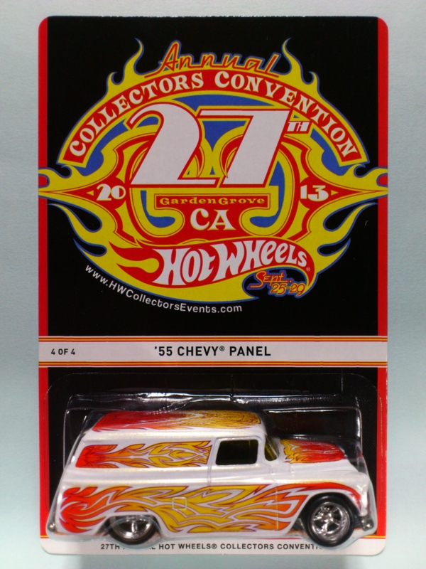 '55 CHEVY PANEL【2013 27TH ANNUAL HOT WHEELS COLLECTORS CONVENTION】