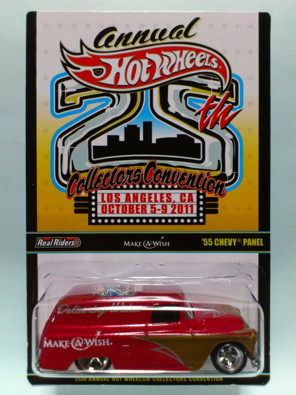'55 CHEVY PANEL【2011 25TH ANNUAL HOT WHEELS COLLECTORS CONVENTION】