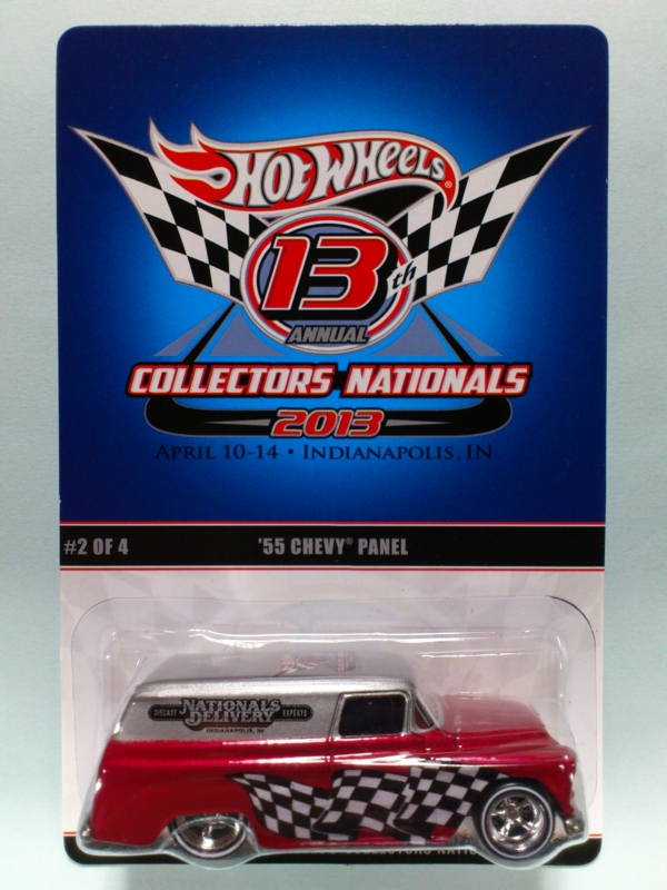 '55 CHEVY PANEL【2013 13TH ANNUAL HOT WHEELS COLLECTORS NATIONALS】
