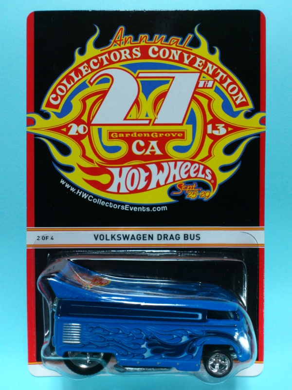 VOLKSWAGEN DRAG BUS【2013 27TH ANNUAL HOT WHEELS COLLECTORS CONVENTION】
