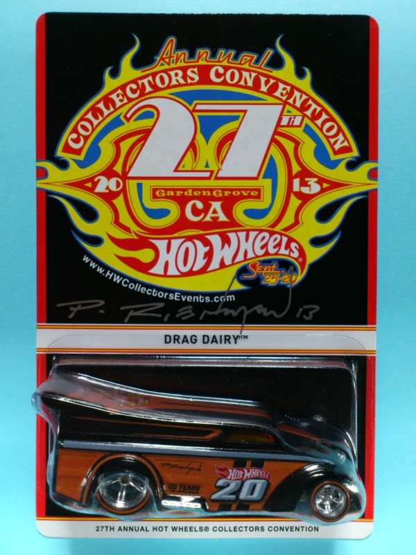 DRAG DAIRY【2013 27TH ANNUAL HOT WHEELS COLLECTORS CONVENTION】
