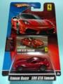 [2009 FERRARI RACER] FERRARI 599 GTB FIORANO【2009 FERRARI RACER】