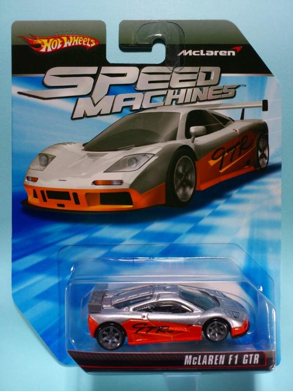 McLAREN F1 GTR【2010 SPEED MACHINES】