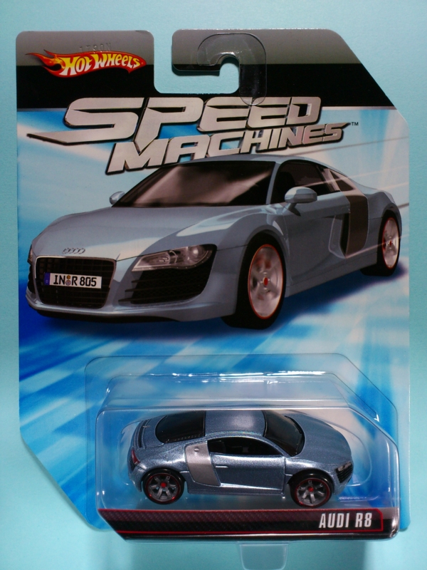 AUDI R8【2010 SPEED MACHINES】