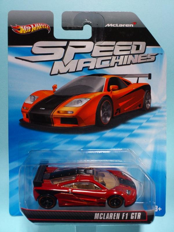 McLAREN F1 GTR【2011 SPEED MACHINES】