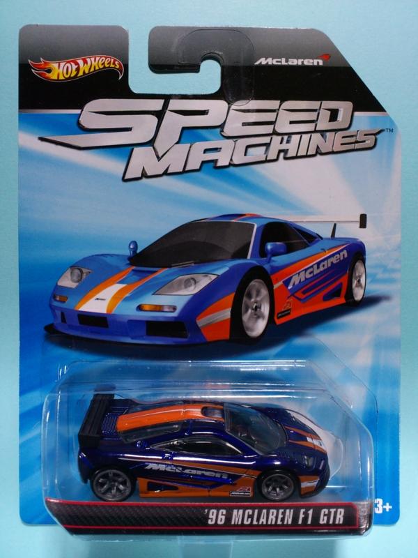 '96 McLAREN F1 GTR【2011 SPEED MACHINES】