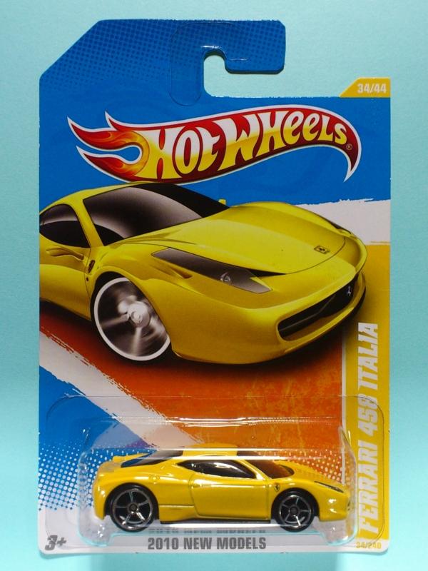 FERRARI 458 ITALIA【2010 NEW MODELS】