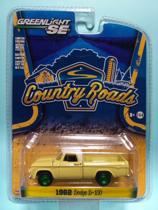 1962 DODGE D-100【COUNTRY ROADS】