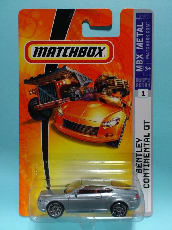 BENTLEY CONTINENTAL GT【MATCHBOX MBX METAL】