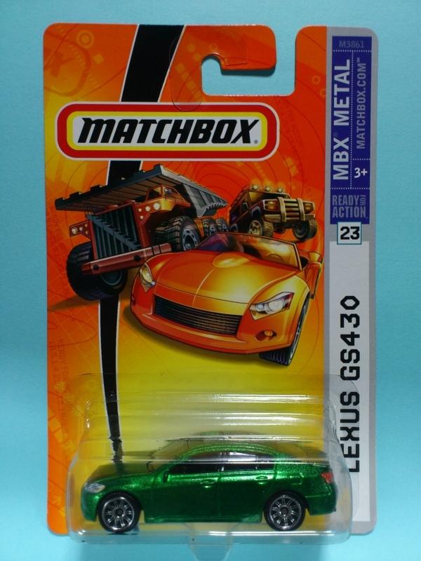 LEXUS GS430【MATCHBOX MBX METAL】