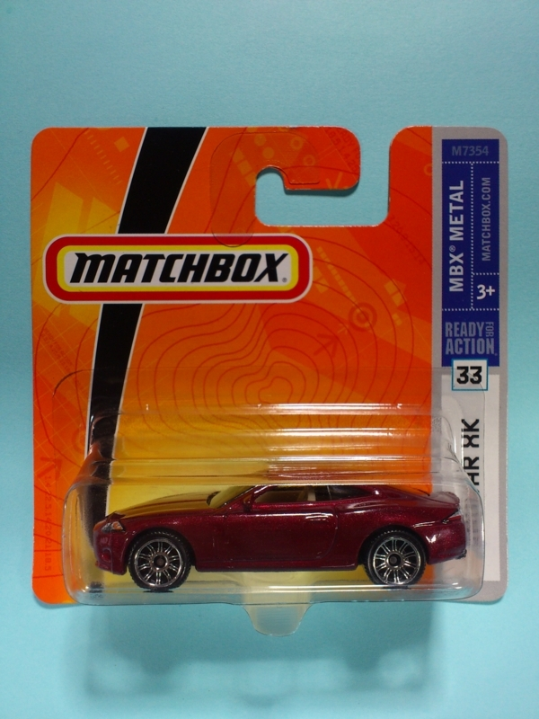 JAGUAR XK【MATCHBOX MBX METAL】