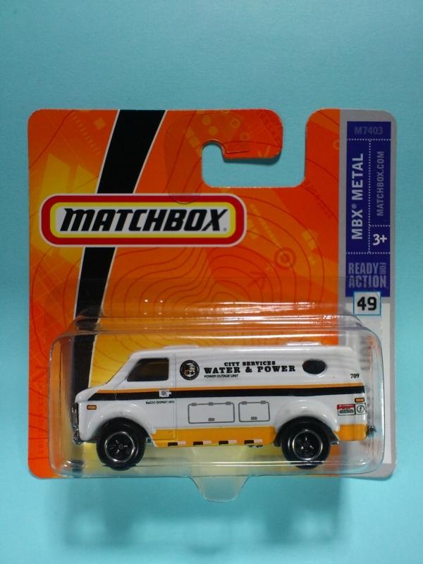 CHEVY VAN【MATCHBOX MBX METAL】
