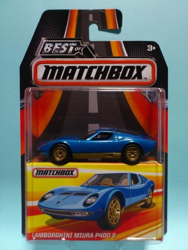 LAMBORGHINI MIURA P400 S【BEST OF MATCHBOX】