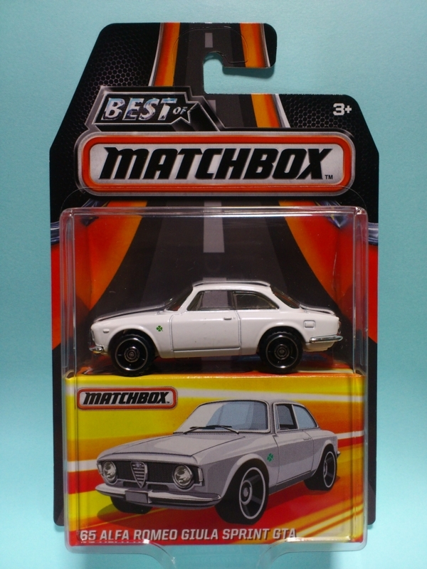 '65 ALFA ROMEO GIULIA SPRINT GTA【BEST OF MATCHBOX】