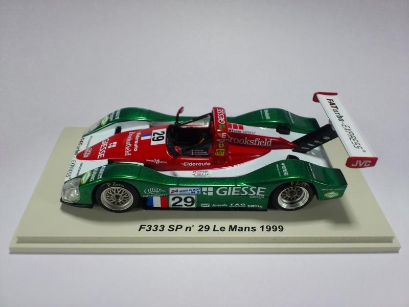 F333 SP #29 LE MANS 1999