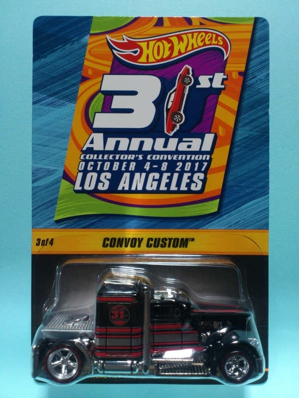 CONVOY CUSTOM【2017 31st ANNUAL HOT WHEELS COLLECTORS CONVENTION】