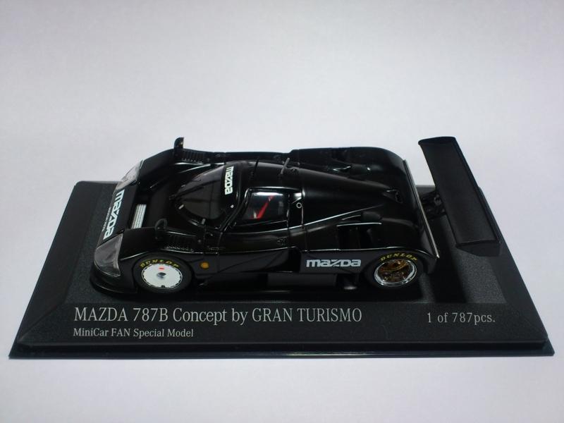 MAZDA 787B CONCEPT BY GRAN TURISMO MINICAR FAN SPECIAL MODEL