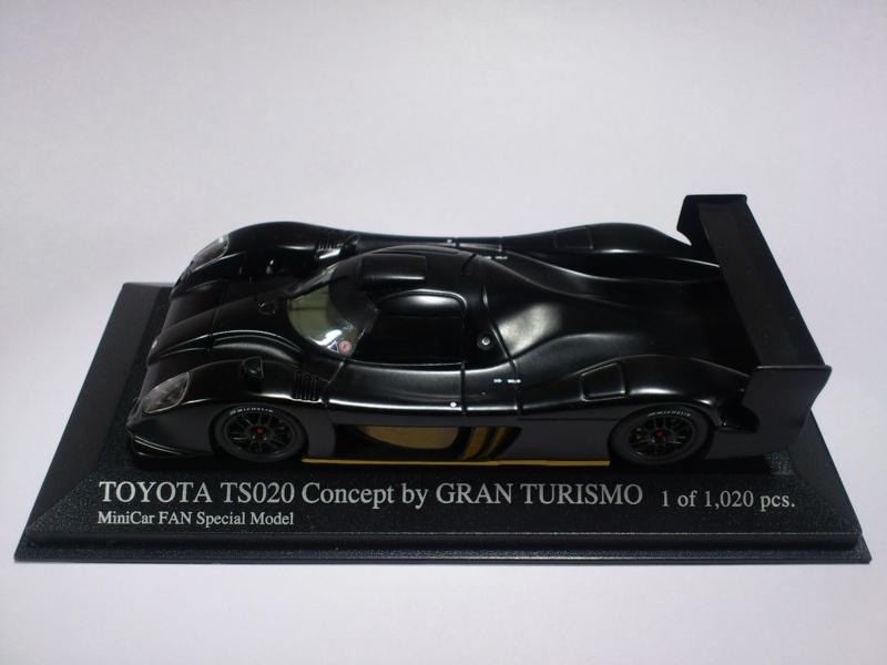 TOYOTA TS020 CONCEPT BY GRAN TURISMO MINICAR FAN SPECIAL MODEL