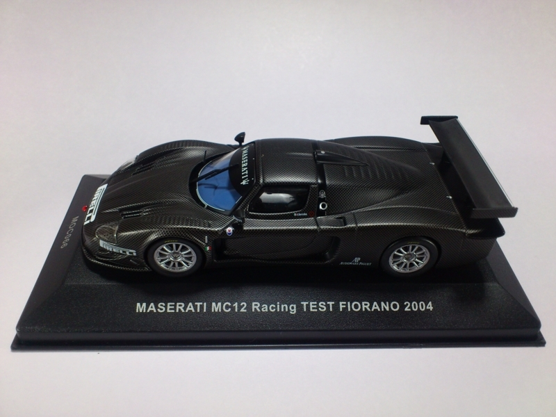 MASERATI MC12 RACING TEST FIORANO 2004