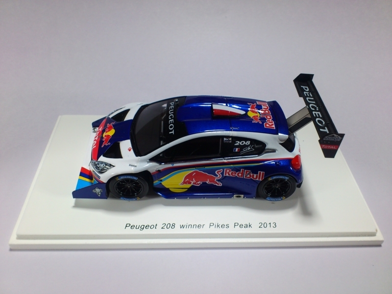 PEUGEOT 208 WINNER PIKES PEAK 2013