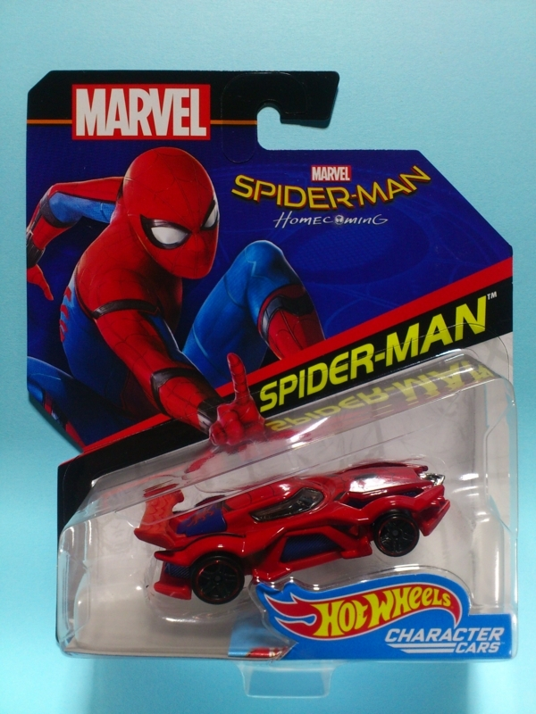 SPIDER-MAN【2017 CHARACTER CARS】
