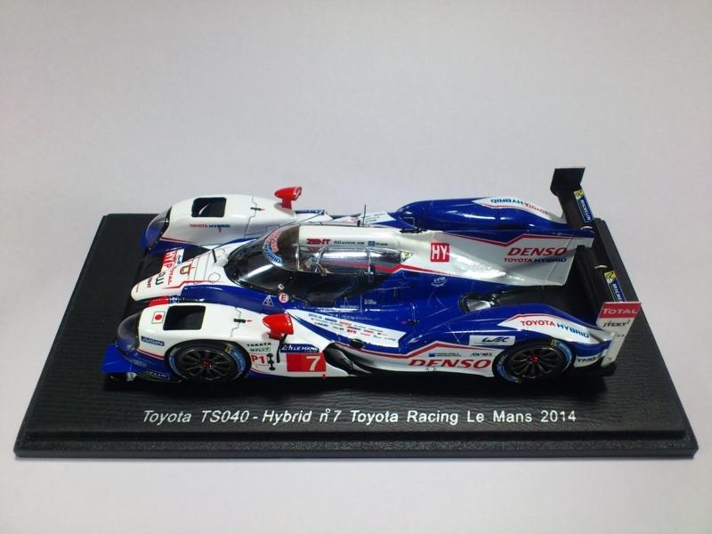 TOYOTA TS040 - HYBRID NO.7 TOYOTA RACING LE MANS 2014