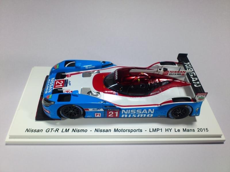 NISSAN GT-R LM NISMO - NISSAN MOTORSPORTS - LMP1 HY LE MANS 2015