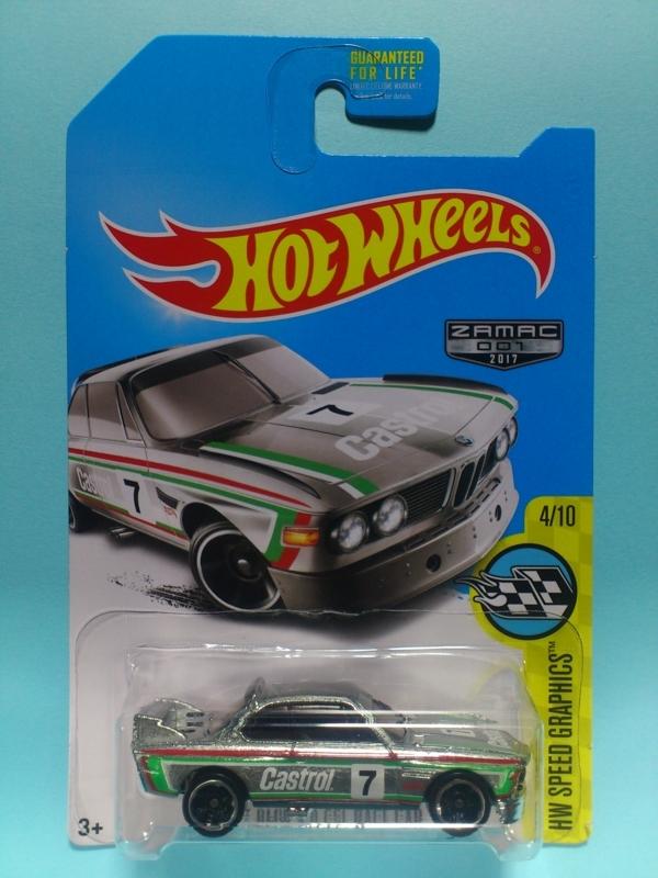 '73 BMW 3.0 CSL RACE CAR【2017 ZAMAC】