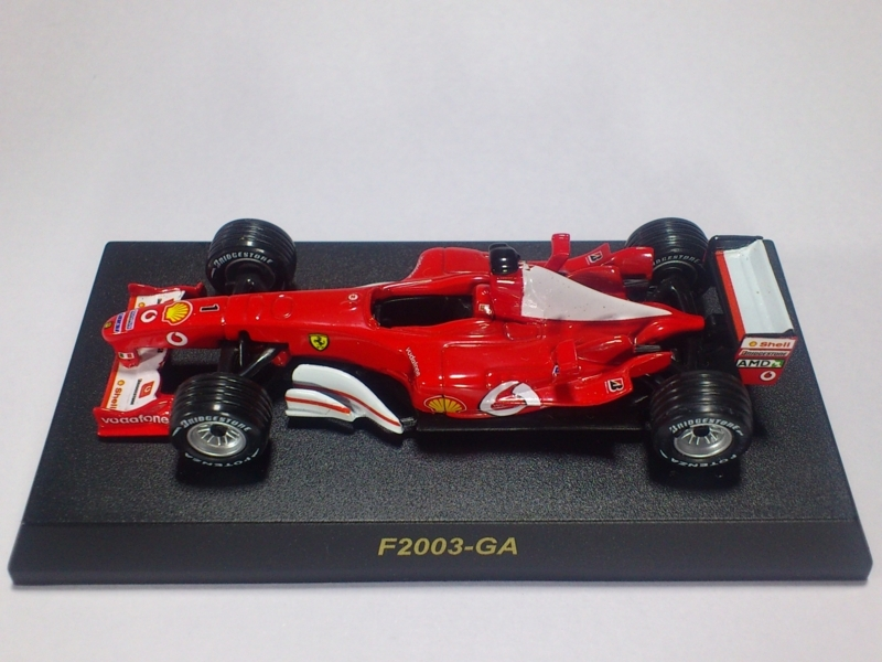 FERRARI F2003-GA【1 M.SCHUMACHER】
