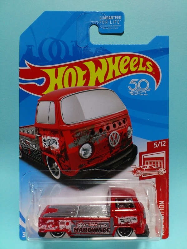 VOLKSWAGEN T2 PICKUP【2018 RED EDITION】