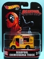 [2018 RETRO ENTERTAINMENT]DEADPOOL CHIMICHANGA TRUCK【2018 RETRO ENTERTAINMENT】