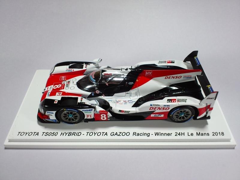 TOYOTA TS050 HYBRID - TOYOTA GAZOO RACING - WINNER 24H LE MANS 2018