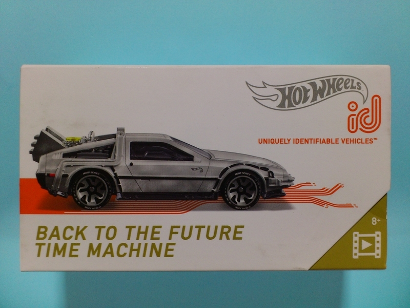 BACK TO THE FUTURE TIME MACHINE【2019 HOT WHEELS id】